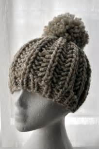 Fisherman Knit Ribbed Hat Free Pattern Hipster