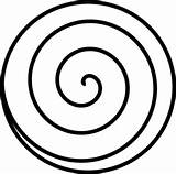 Spiral Clip Clipart Vector Clker Marco Shared sketch template