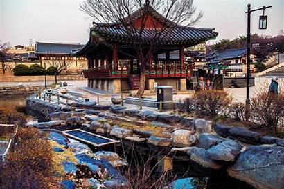 Hanok Village Namsangol Seoul Korea Seollal Korean