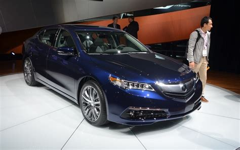 acura tlx the final version will bow at the ny auto show