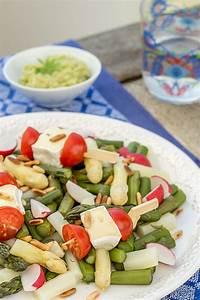 Spargel Avocado Salat : spargel salat mit waldmeister avocado creme und frischem ~ Lizthompson.info Haus und Dekorationen
