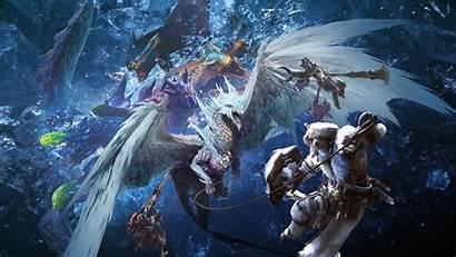 Hunter Monster Iceborne Wallpapers