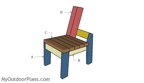 2x4 chair plans myoutdoorplans free woodworking plans