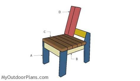 chair plans myoutdoorplans  woodworking plans