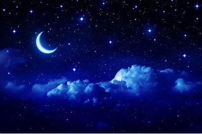 Sky Night Aesthetic Stars Galaxy Wallpapers Desktop