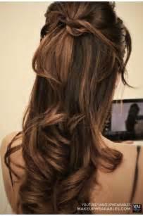 Simple hairstyles for medium hair   Wedding Hairstyles