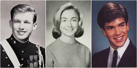2016 Presidential Candidates' High School Photos