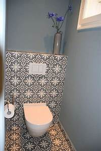 Tapete Auf Fliesen : die besten 17 ideen zu toiletten tapete auf pinterest wc ~ Michelbontemps.com Haus und Dekorationen