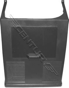 19842 Robinair Lower Gray Shroud For Cart Style Recovery Units