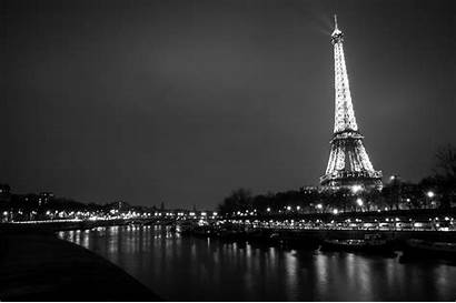 Paris Eiffel Tower Skyline Night 4k Wallpapers