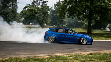 Cars Subaru Sti Drift Wallpaper