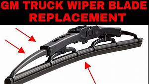 How To Replace Wiper Blades On  U0026 39 99