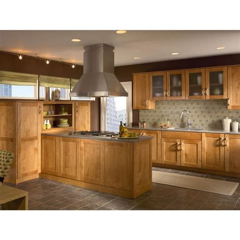 kitchen cabinets kraftmaid maple praline cabinets 3059