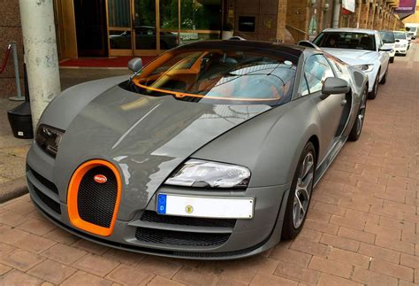Matte Grey Bugatti Veyron Vitesse Spotted In Germany
