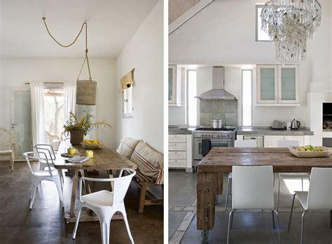 deco cuisine blanc et bois deco salle a manger blanche meilleures images d