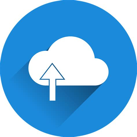 Cloud Upload · Free Vector Graphic On Pixabay
