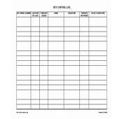 9  Sample Key Log Templates PDF Word Excel