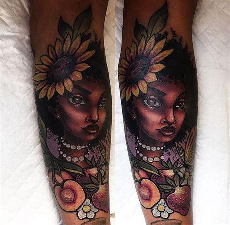 ideas  dark skin tattoo  pinterest purple flower tattoos black flower tattoos