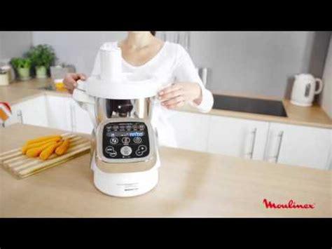 moulinex robot culinaire chauffant hf800a10 cuiseur cuisine companion