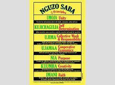 ORAAD Worldwide Nguzo Saba Challenge 2013