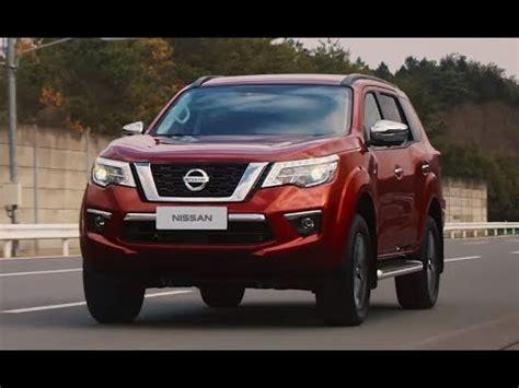 การสร้าง 2019 Nissan Terra รถ Suvppv สายพันธุ์ใหม่ ดีไซน์