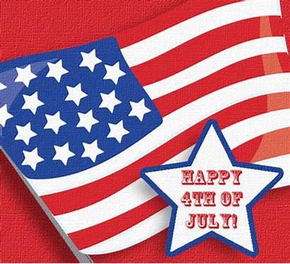 July Flag Fourth Happy
