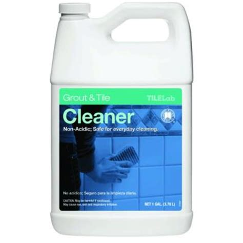 Tilelab Grout And Tile Concentrated Cleaner by Custom Building Products Tilelab 1 Gal Grout And Tile