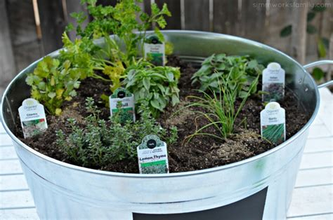 Diy Upcycled Container Garden + Tips On Planting A