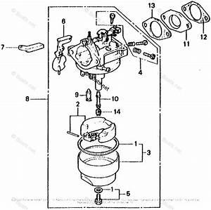 Parts Honda Small Engine Carburetor Diagram