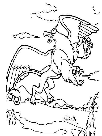 Coloring Quest by Quest For Camelot Coloring Pages Coloringpagesabc