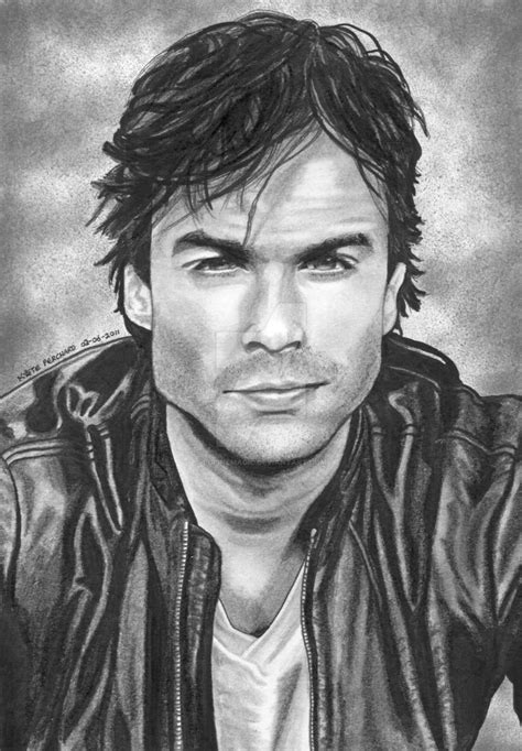 He was unable to find her no matter how he searched. Damon Salvatore by lupinemagic on DeviantArt
