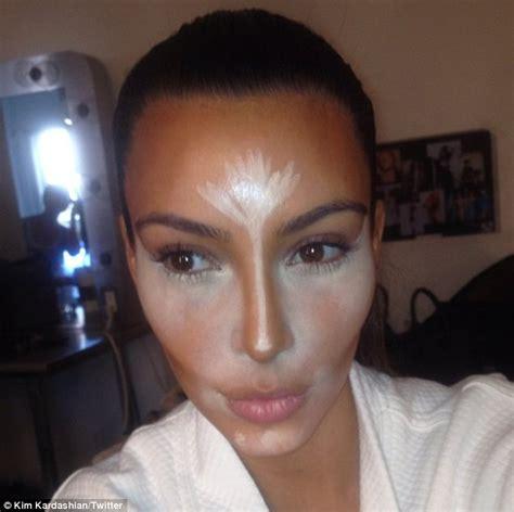 kim kardashian lets fans in on her beauty secrets as she