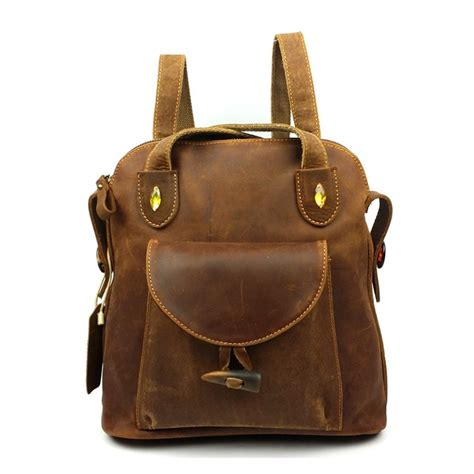 39 s vintage leather backpack cw253307