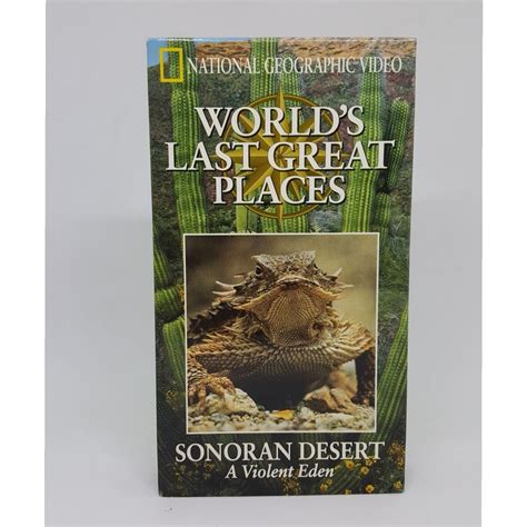 National Geographic Last Great Places Sonoran Desert VHS ...