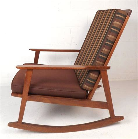 mid century modern rocking chair for sale at 1stdibs