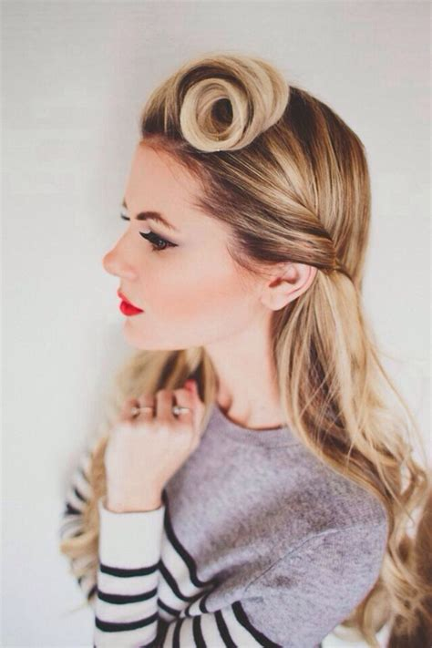 Modern 1940s Hairstyles by Go Retro With 10 Modern 60s Inspired Hairstyles