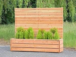 Vertikaler Garten Kaufen : pflanzkasten pflanzk bel 212 holz mit sichtschutz element h he 180 cm in garten terrasse ~ Watch28wear.com Haus und Dekorationen