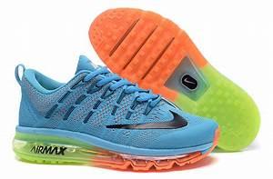 Bleu Et Orange : air max bleu et orange vente chaussures baskets air max bleu et orange pas cher ~ Nature-et-papiers.com Idées de Décoration