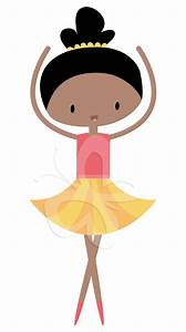 Unique Black Ballerina Clip Art Design » Free Vector Art ...