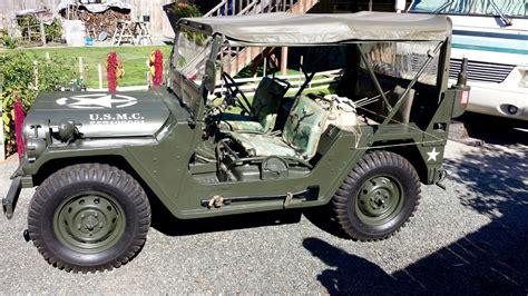 army jeep 2017 mutt m151a2 military na prodej
