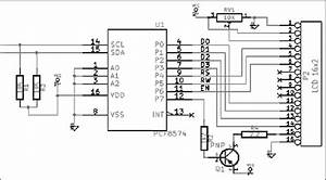 I2c And Lcd 1602 Schematics  22