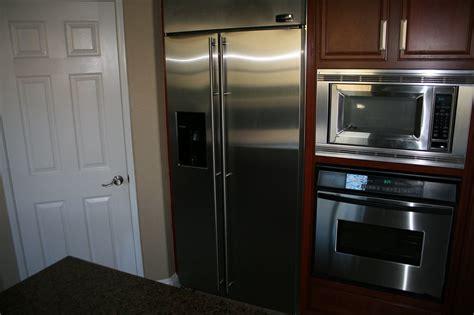ge refrigerators monogram ge refrigerators   side