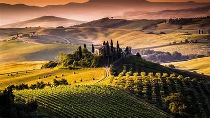 Tuscany Italy Wallpapers Wallpaperaccess Backgrounds