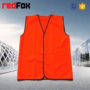 High Quality Fashion Cute Red Safety Vest - Buy Red Safety ...