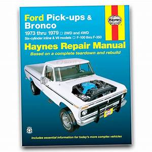 Haynes Repair Manual For 1975-1979 Ford F-150
