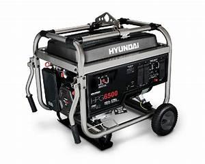 Hyundai 6500 Watt 13hp Manual Start Professional Gas