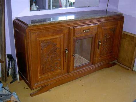 buffet bas deco dessus marbre l1 224 st jean de braye antiquit 201 brocantes meubles