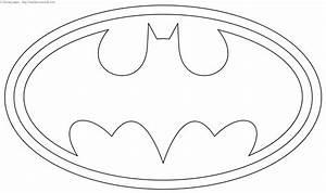 batman logo coloring page With batman logo cake template