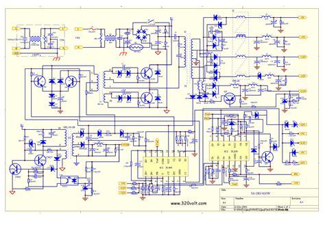 Atx Power Supply Elektronik Devreler