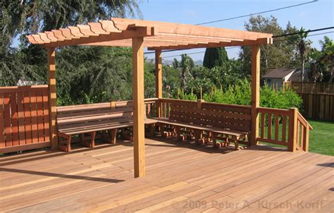 los angeles wood pergolas patio covers arbors